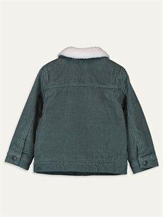 %100 Pamuk %100 Polyester Kalın Ceket Erkek Bebek Kadife Ceket