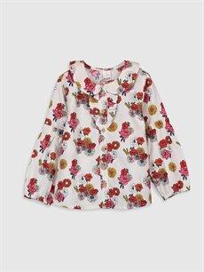Kız Bebek Kız Bebek Desenli Gömlek ve Tayt