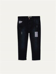 Lacivert Erkek Bebek Slim Fit Jean Pantolon 9WN983Z1 LC Waikiki