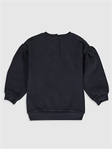 %90 Pamuk %10 Polyester  Kız Bebek Sweatshirt