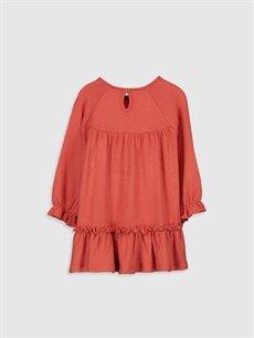 %18 Polyester %80 Viskoz %2 Elastan  Kız Bebek Elbise