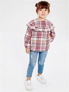 Kız Bebek Kız Bebek Flanel Bluz