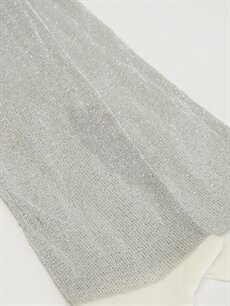 %75 Poliamid %15 Metalik iplik %10 Elastan  Kız Bebek Külotlu Çorap