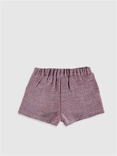 Kız Bebek Kız Bebek Flanel Şort ve Külotlu Çorap