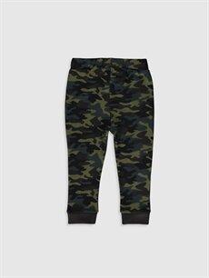 %100 Pamuk  Erkek Bebek Kamuflaj Desenli Jogger Pantolon