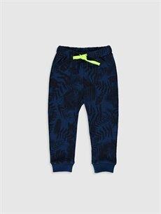 Lacivert Erkek Bebek Desenli Jogger Pantolon 9WS259Z1 LC Waikiki