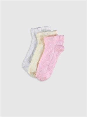 Kız Bebek Soket Çorap 3'lü - LC WAIKIKI