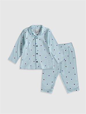 Erkek Bebek Desenli Pijama Takımı - LC WAIKIKI