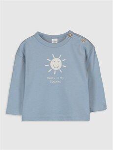 Erkek Bebek Erkek Bebek Baskılı Tişört 2'li