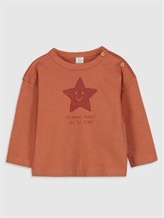 Erkek Bebek Baskılı Tişört 2'li