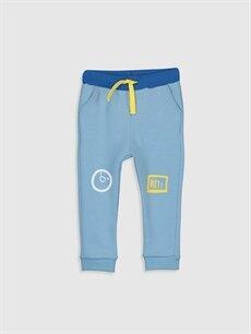 Mavi Erkek Bebek Baskılı Jogger Pantolon 9WT420Z1 LC Waikiki