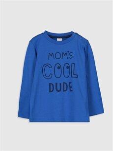 Erkek Bebek Desenli Tişört 2'li