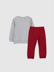 %65 Pamuk %35 Polyester %65 Pamuk %35 Polyester  Kız Bebek Sweatshirt ve Pantolon