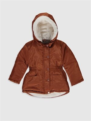 Kız Bebek Kapüşonlu Mont - LC WAIKIKI