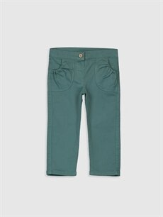 Yeşil Kız Bebek Pantolon 9WV135Z1 LC Waikiki