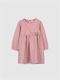 Pembe Kız Bebek Elbise 9WY126Z1 LC Waikiki