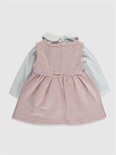 %92 Pamuk %4 Polyester %4 Metalik iplik  Kız Bebek Elbise ve Tişört