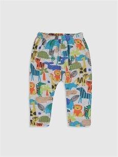 Luggi Baby Yenidoğan Desenli Tişört ve Pantolon