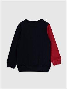 %100 Pamuk  Erkek Çocuk Baskılı Sweatshirt