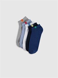 Çok Renkli Patik Çorap 5'li 0S2714Z8 LC Waikiki