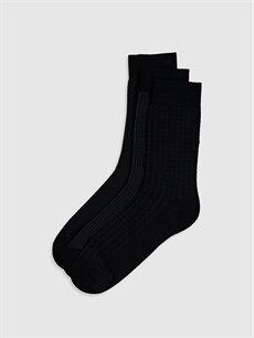 Çok Renkli Çok Renkli Soket Çorap 3'lü 0S2796Z8 LC Waikiki