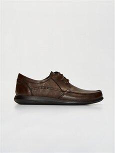 Kahverengi Erkek Bağcıklı Klasik Ayakkabı 0SN917Z8 LC Waikiki