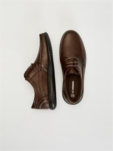 Diğer malzeme (pvc)  Erkek Bağcıklı Klasik Ayakkabı