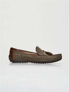 Haki Erkek Loafer Ayakkabı 0SN932Z8 LC Waikiki