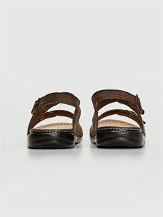 Erkek Çift Bantlı Tokalı Sandalet