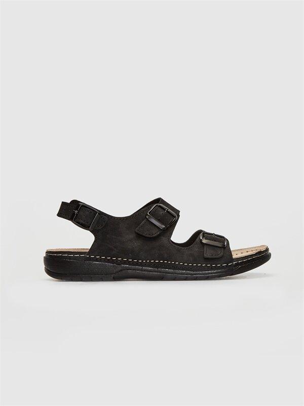 Erkek Çift Bantlı Tokalı Sandalet - LC WAIKIKI