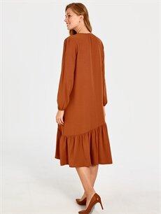 Kadın Püskül Detaylı Elbise