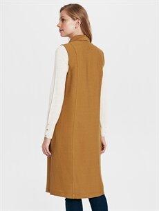 Kadın Uzun Viskon Yelek