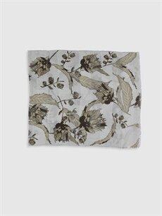 %100 Polyester  Desenli Şal