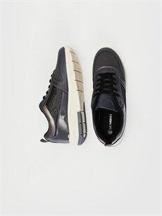 Tekstil malzemeleri Diğer malzeme (poliüretan) Tekstil malzemeleri Ayakkabı Kadın Günlük Spor Ayakkabı