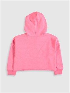 Kız Çocuk Kız Çocuk Minnie Mouse Baskılı Sweatshirt
