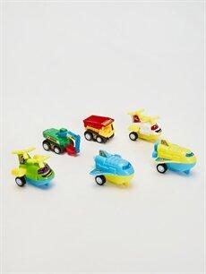 Plastik  Oyuncak Araç Seti