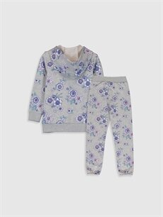 %44 Pamuk %56 Polyester %44 Pamuk %56 Polyester  Kız Çocuk Sweatshirt ve Eşofman Altı
