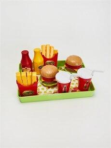 Plastik  Hamburger Seti
