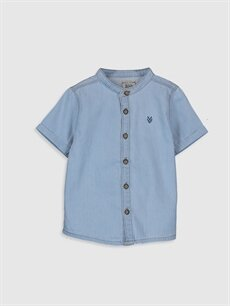 İndigo Erkek Bebek Jean Gömlek 0S0111Z1 LC Waikiki