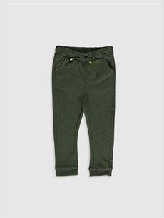 Yeşil Erkek Bebek Jogger Pantolon 0S0279Z1 LC Waikiki