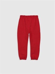 %60 Pamuk %40 Polyester  Erkek Bebek Baskılı Jogger Pantolon