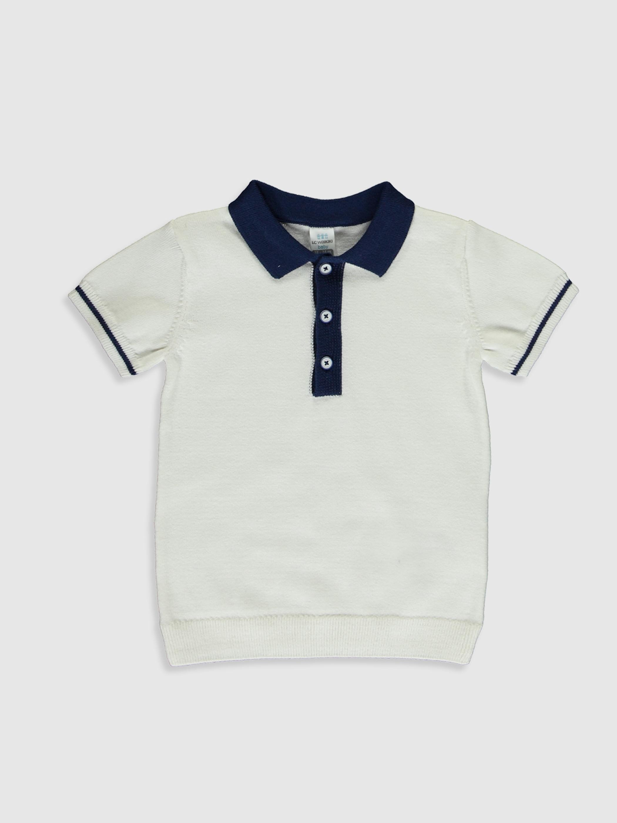 Erkek Bebek Gömlek Yaka Kazak - LC WAIKIKI
