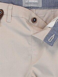 Erkek Bebek Gabardin Pantolon ve Pantolon Askısı