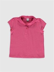 Pembe Kız Bebek Basic Tişört 0S1973Z1 LC Waikiki