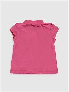 %100 Pamuk Standart Düz Kısa Kol Tişört Diğer Kız Bebek Basic Tişört