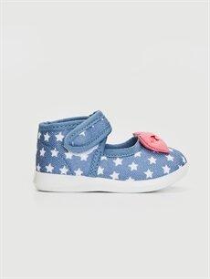 İndigo Kız Bebek Fiyonk Detaylı Babet Ayakkabı 0S3041Z1 LC Waikiki