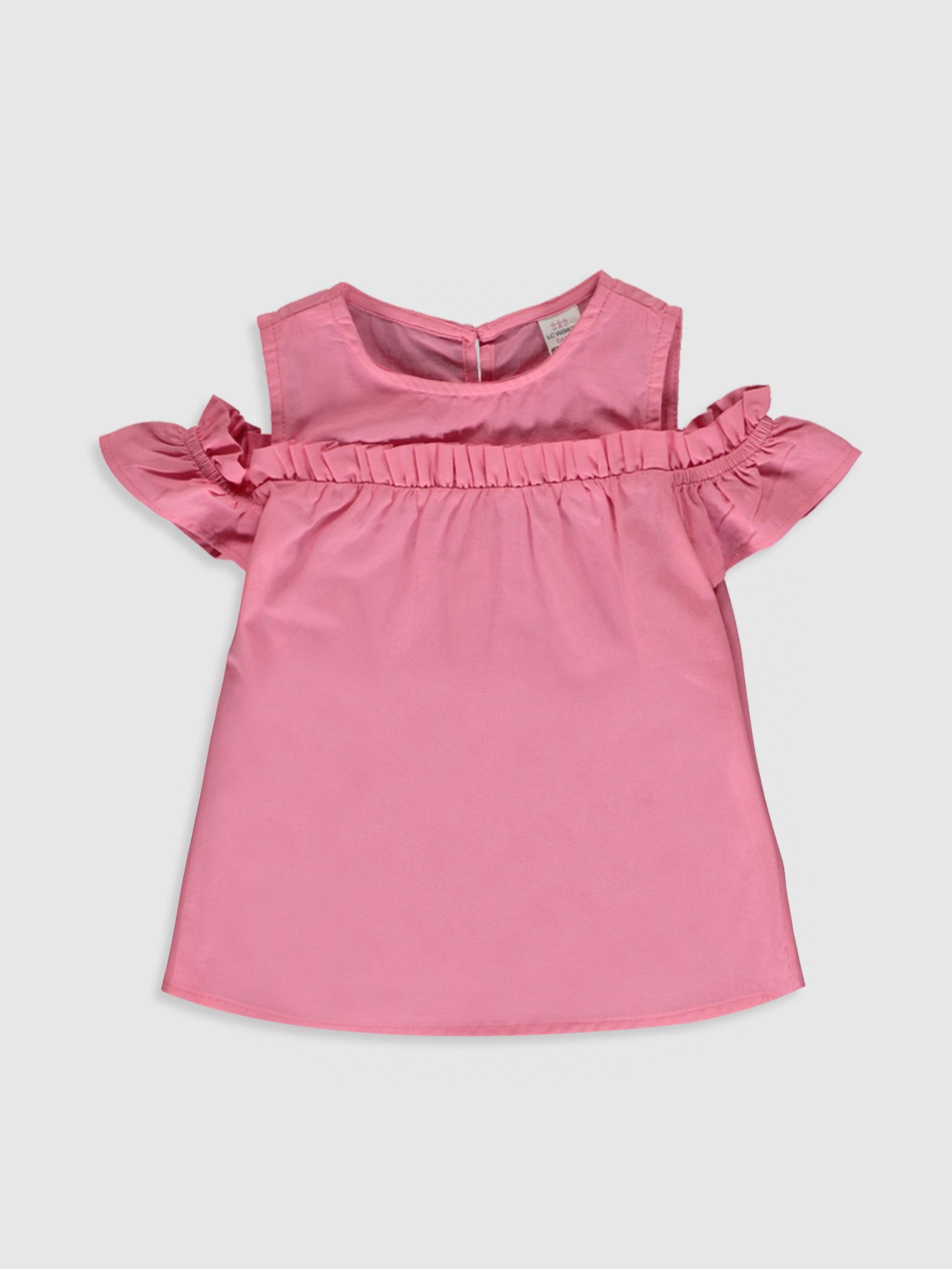 Kız Bebek Basic Poplin Bluz - LC WAIKIKI