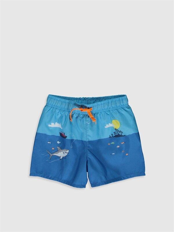Erkek Bebek Baskılı Yüzme Şort - LC WAIKIKI