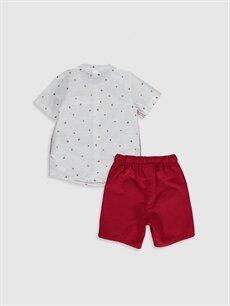 %100 Pamuk %100 Pamuk  Erkek Bebek Gömlek ve Şort