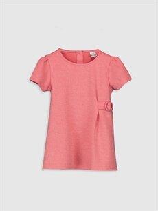 Mercan Kız Bebek Basic Elbise 0SN304Z1 LC Waikiki